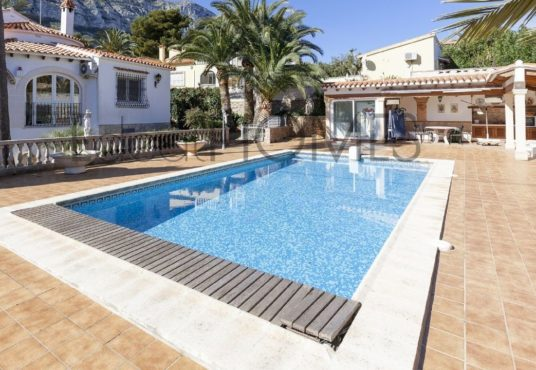 Villa in Denia Montgo_pool