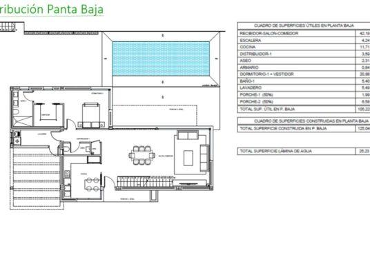 Villa en Beniarbeig Planta baja