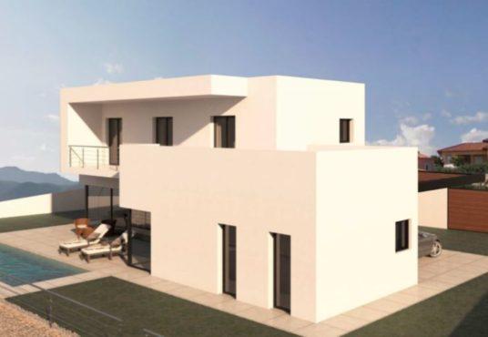 Villa en Beniarbeig Planta lateral