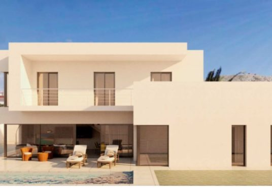 Villa en Beniarbeig fachada otro lateral