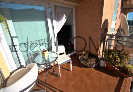 Apartamento en Dénia con vistas a la montaña terraza